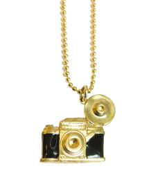 Polder Girl Kid Necklace April Showers by Polder Kid Necklace Camera