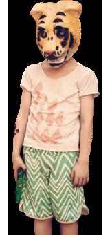Summer shorts by Noe & Zoe