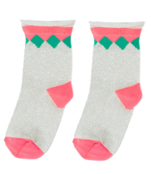 April Showers by Polder Pauline Ankle Socks April Showers by Polder Pauline Ankle Socks silver