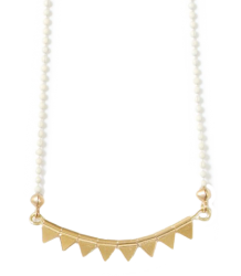 Polder Girl Prunette Necklace April Showers by Polder Prunette Necklace 3