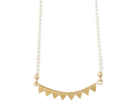 Polder Girl Prunette Necklace