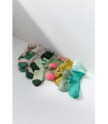 April Showers by Polder Polka Knee Socks April Showers Polka Knee Socks celadon