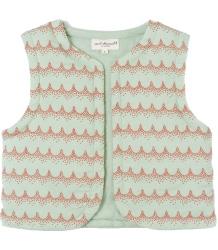 Mala Vest April Showers by Polder Mala Vest Dentelle Coral Aqua