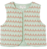 Mala Vest April Showers by Polder Mala Vest Dentelle Coral Aqua