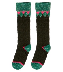 April Showers by Polder Patsy Knee Socks April Showers by Polder Patsy Knee Socks Charcoal