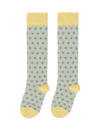 April Showers by Polder Polka Knee Socks April Showers Polka Knee Socks celadon