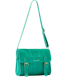Polder Girl Puzzle Shoulder Bag April Showers by Polder Puzzle Shoulder Bag Emerald green