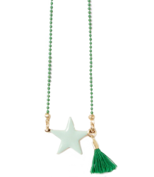 April Showers by Polder Philippa Necklace April Showers by Polder Philippa Necklace emerald green