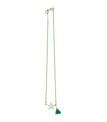 April Showers by Polder Philippa Necklace April Showers by Polder Philippa Necklace acqua