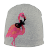 Sharky Beanie Barts Sharky Beanie grey   candy with flamingo artwork