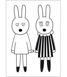Rab Love - Poster MiniWilla Rab Love - Poster