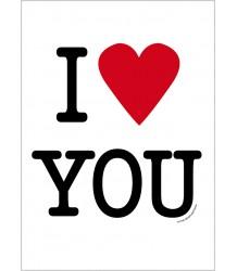 Love U - Poster MiniWilla Love U - Poster