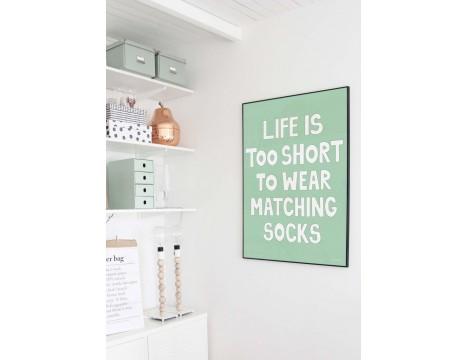 Miniwilla Matching Socks - Poster