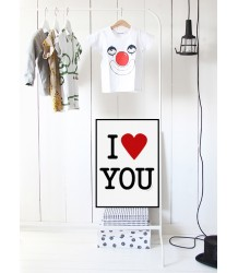 Love U - Poster MiniWilla Love U to the moon and back Poster