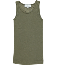 Little Remix Blos - Rayon Jersey Tank Top Little Remix Blos - Rayon Jersey Tank Top Olive