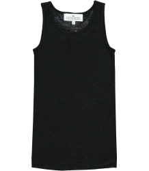 Little Remix Blos - Rayon Jersey Tank Top Little Remix Blos - Rayon Jersey Top, black