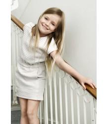 Shona - 3D Structured Dress Little Remix Shona - 3D Structured Dress, cream