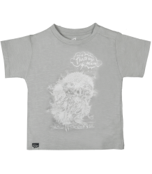 Lion of Leisure Baby T-shirt Owl Lion of Leisure Baby T-shirt  highrise grey