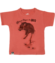 Lion of Leisure Baby T-shirt Warthog Lion of Leisure Baby T-shirt Warthog Spiced coral