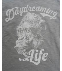 Lion of Leisure T-shirt LS Monkey Lion of Leisure T-shirt LS Monkey grey
