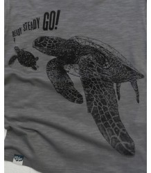 Lion of Leisure T-shirt LS Turtles Lion of Leisure T-shirt LS Turtles grey