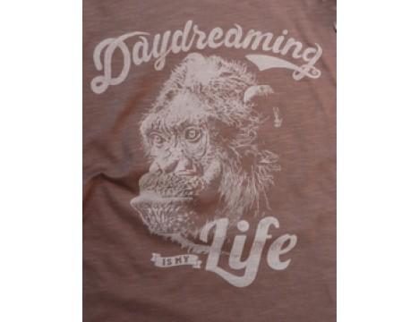 Lion of Leisure T-shirt LS Monkey