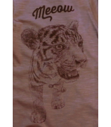 Lion of Leisure Baby One-Piece Suit Tiger Lion of Leisure Baby One-Piece Suit Tiger Taupe