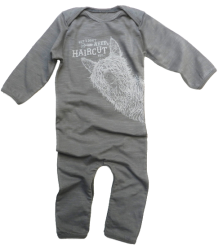 Lion of Leisure Baby One-Piece Suit Lama Lion of Leisure Baby One-Piece Suit Lama Grey