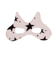 Noé & Zoë Cat Mask Noe & Zoe Cat Mask Black stars