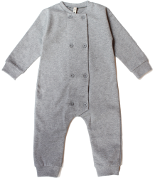Gray Label Double Breasted Babysuit Gray Label Double Breasted Babysuit Grey melange