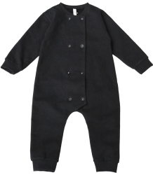 Gray Label Double Breasted Babysuit Gray Label Double Breasted Babysuit Nearly Black