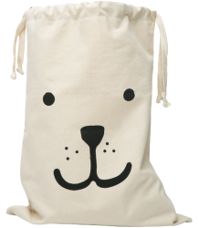 Fabric Bag Bear Tellkiddo Fabric Bag Bear