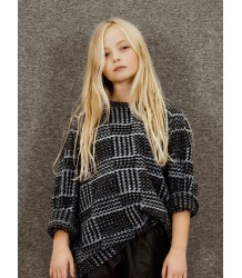 Little Remix JR Merit Top Little Remix JR Merit Top grey check