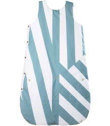 Sleep Bag Anatology Sleep Bag Dancing stripes Green