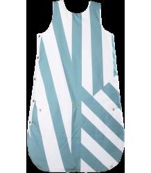 Sleep Bag Anatology Sleep Bag Dancing stripes Green