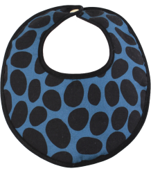 Anatology Bib Anatology Bib Dalmatian, black and blue