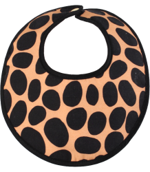 Anatology Bib Anatology Bib Dalmatian, black and terracotta
