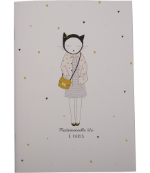 Emile et Ida Notebook - Set of 3 Emile et Ida Notebook Girl - Ida