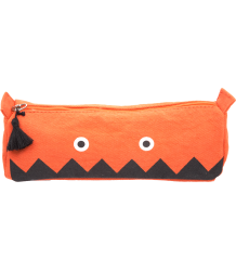 Emile et Ida Pencil Case Emile et Ida Pencil Case Orange Monster