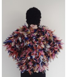 Caroline Bosmans Jamaicensis Feather Coat Caroline Bosmans Jamaicensis Feather Coat