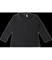 Gray Label Collar LS Tee Gray Label Collar LS Tee Nearly Black