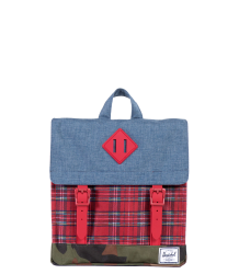 Herschel Survey Kid Herschel Survey Kid Chambray With red plaid and camouflage