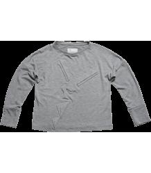 Oona t-shirt LS Ine de Haes Oona t-shirt LS grey melange