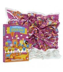 Crumpled City™ Berlin Map - Junior Crumpled City Berlin Map - Junior