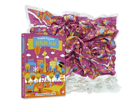 Crumpled City™ Berlin Map - Junior