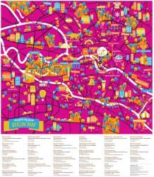 Berlin Map - Junior Crumpled City Berlin Map - Junior