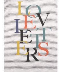 Emile et Ida Raglan T-shirt LS Emile et Ida Raglan T-shirt LS Loveletters print