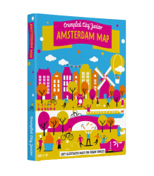 Amsterdam Map - Junior Crumpled City - Map Amsterdam - Junior
