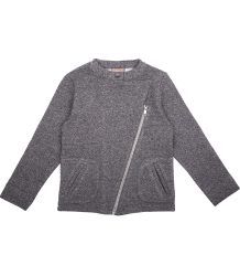 Emile et Ida Biker Sweat  Molleton Emile et Ida Biker Sweat Molleton grey melange