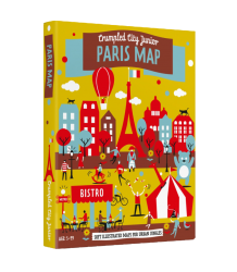 Crumpled City™ Paris Map - Junior Crumpled City - Paris Map - Junior
